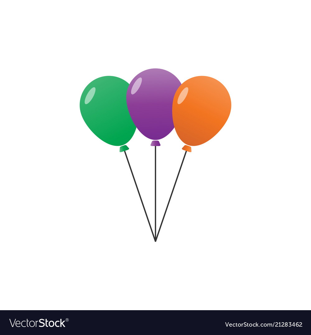 3 balloon with colors