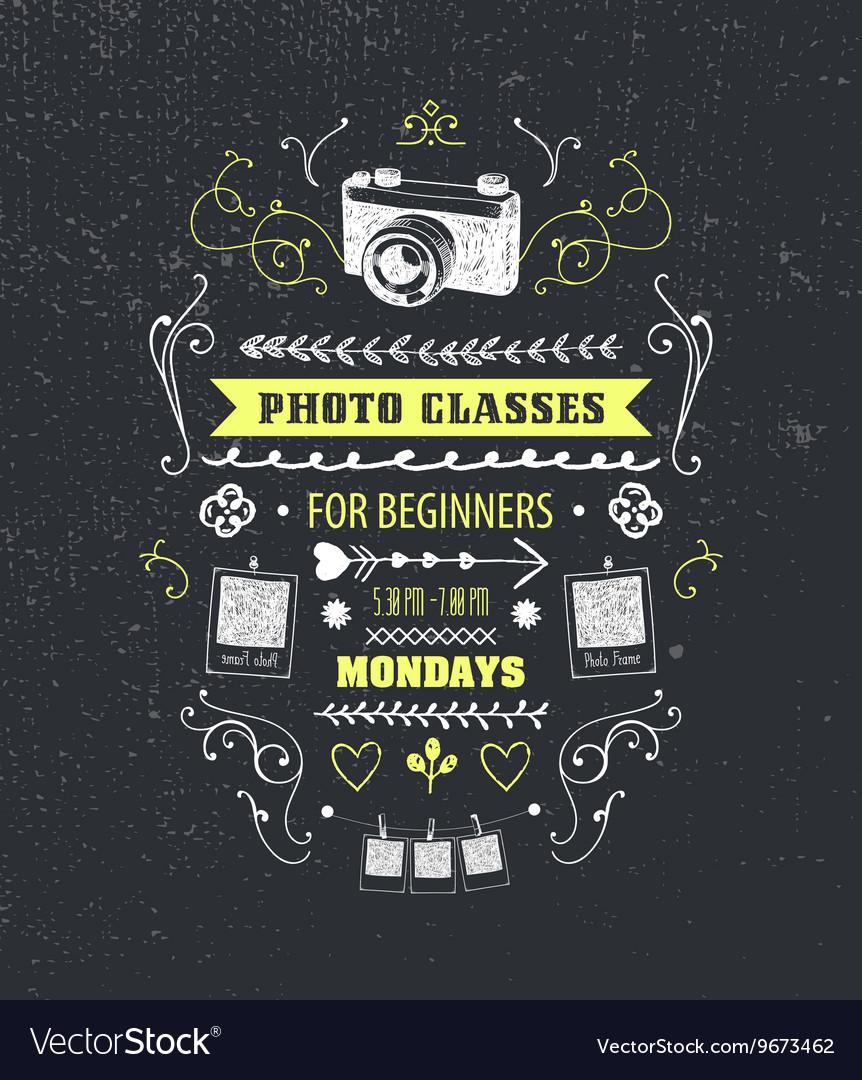 Photography classes educational studio