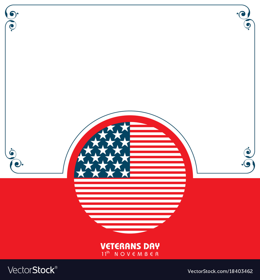 Veterans day greeting royalty free vector image veterans day greeting vector image m4hsunfo