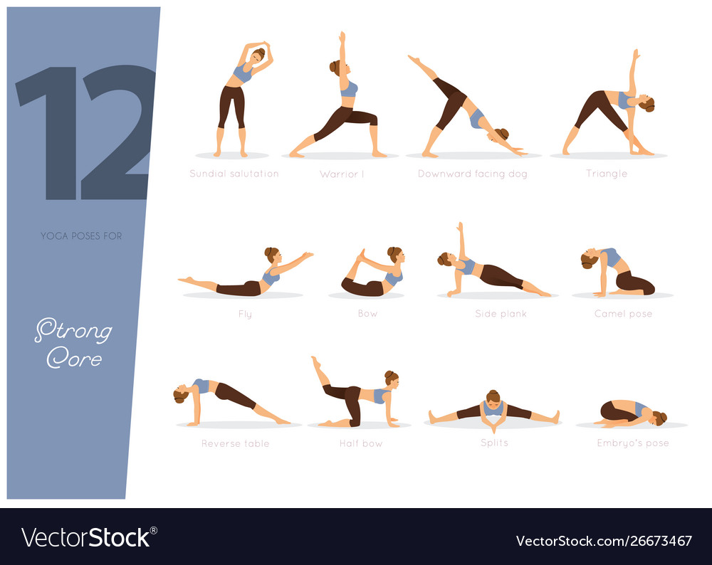 38 yoga poses for strong core
