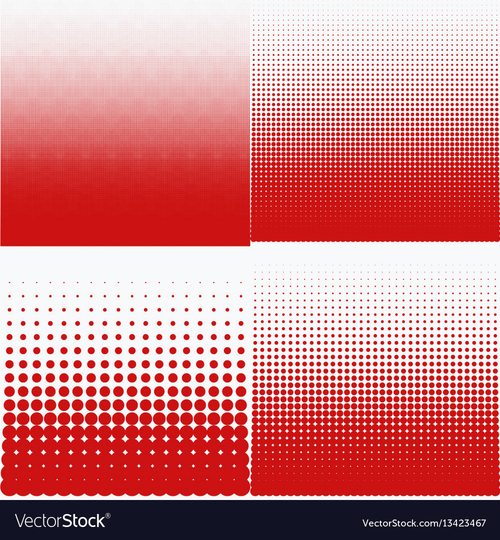 A halftone pattern