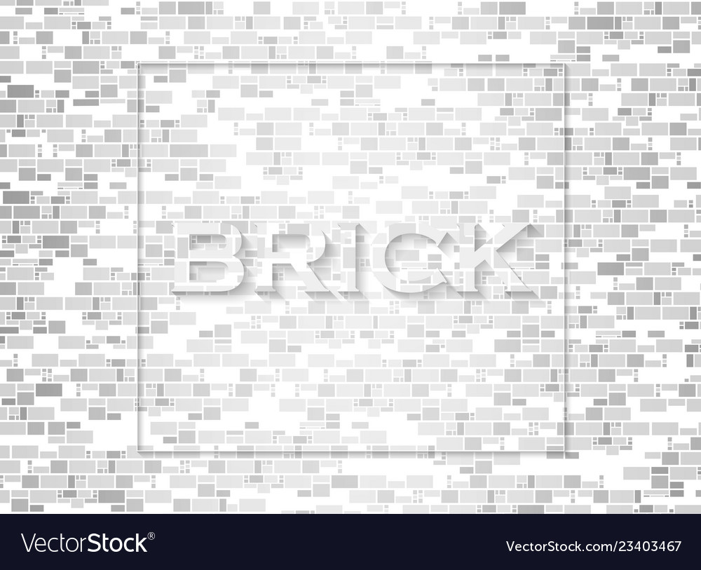 Abstract of bricks pattern background