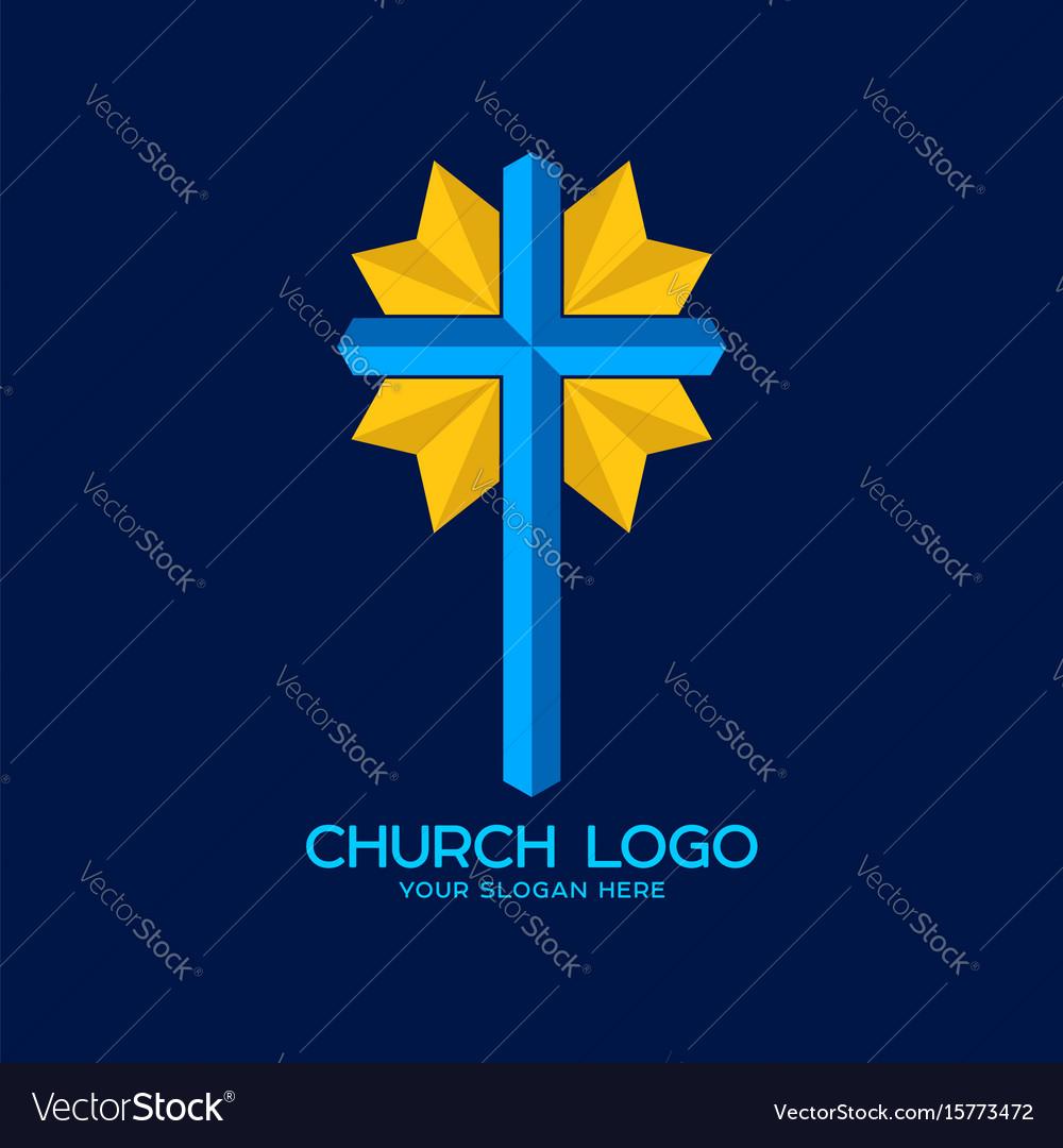 Cross Of The Savior Jesus Christ Royalty Free Vector Image