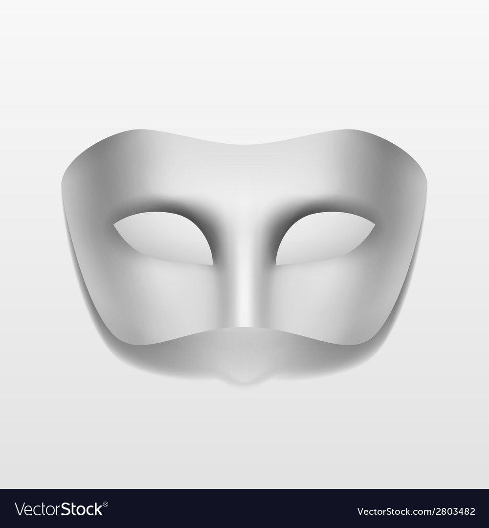 Carnival Masquerade Party Mask Isolated