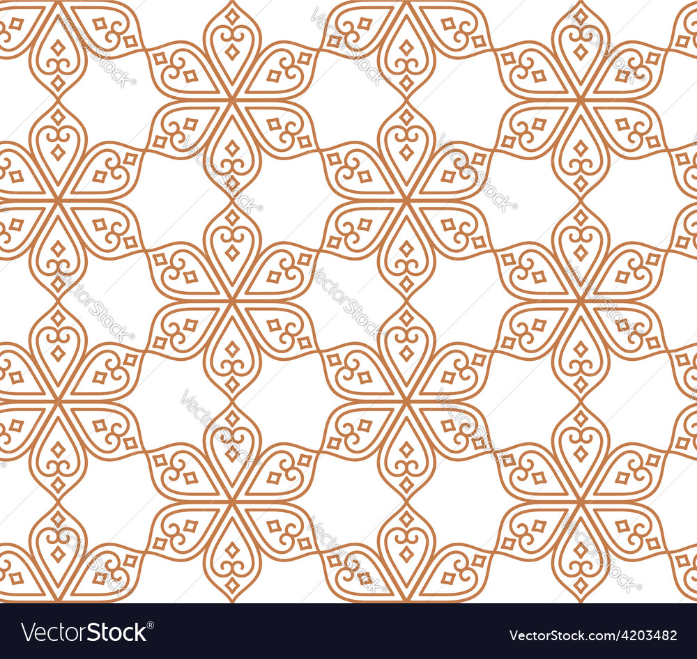 Indian seamless abstract pattern traditional