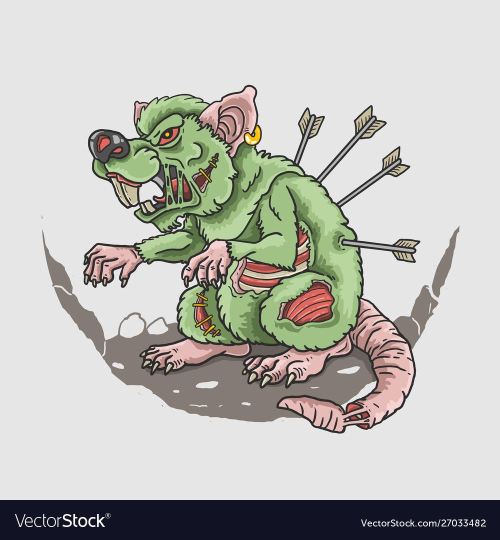 Zombie rat killer
