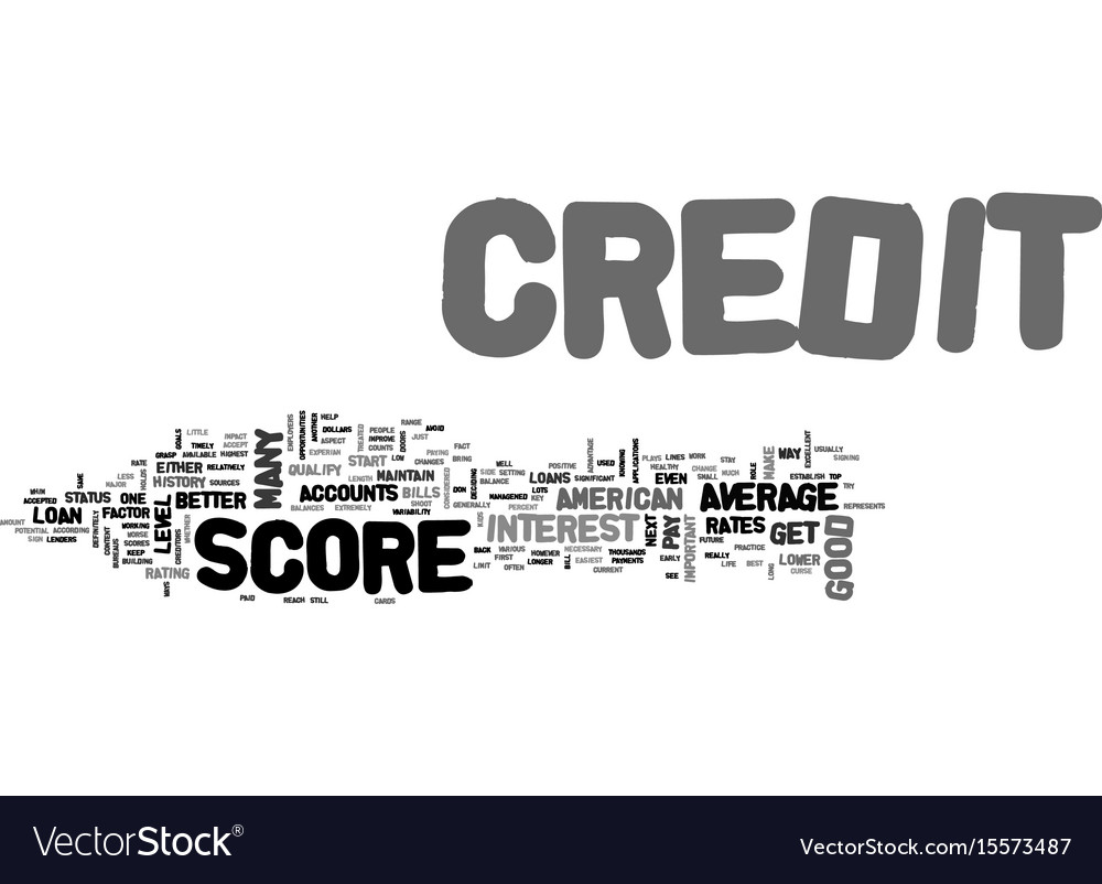 Average american credit score see if you are