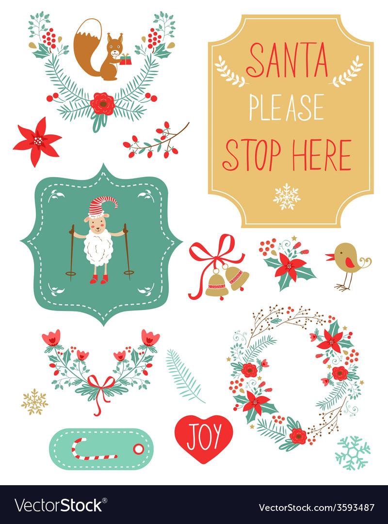 Cute Christmas Clip Art.Cute Christmas Clipart