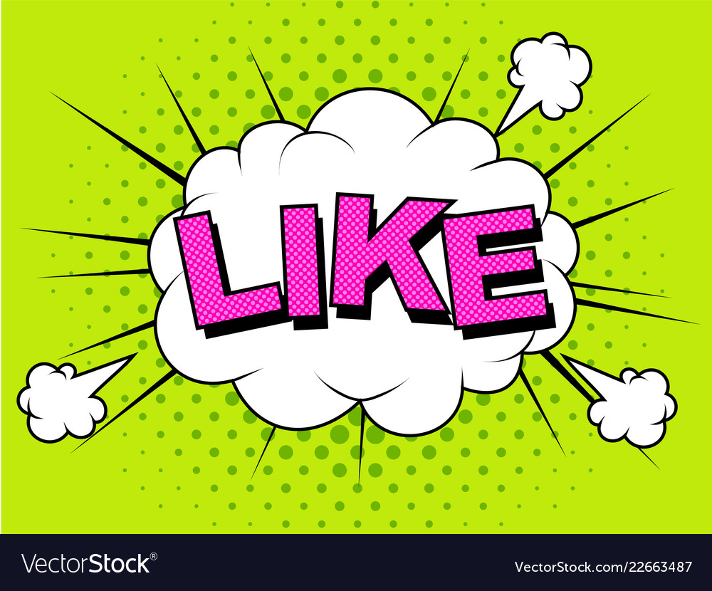 Like thumbs up like icons for social network