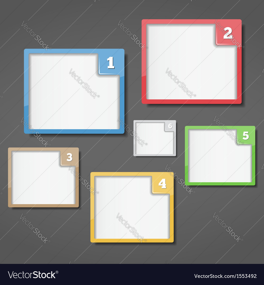 Frames with Numbers