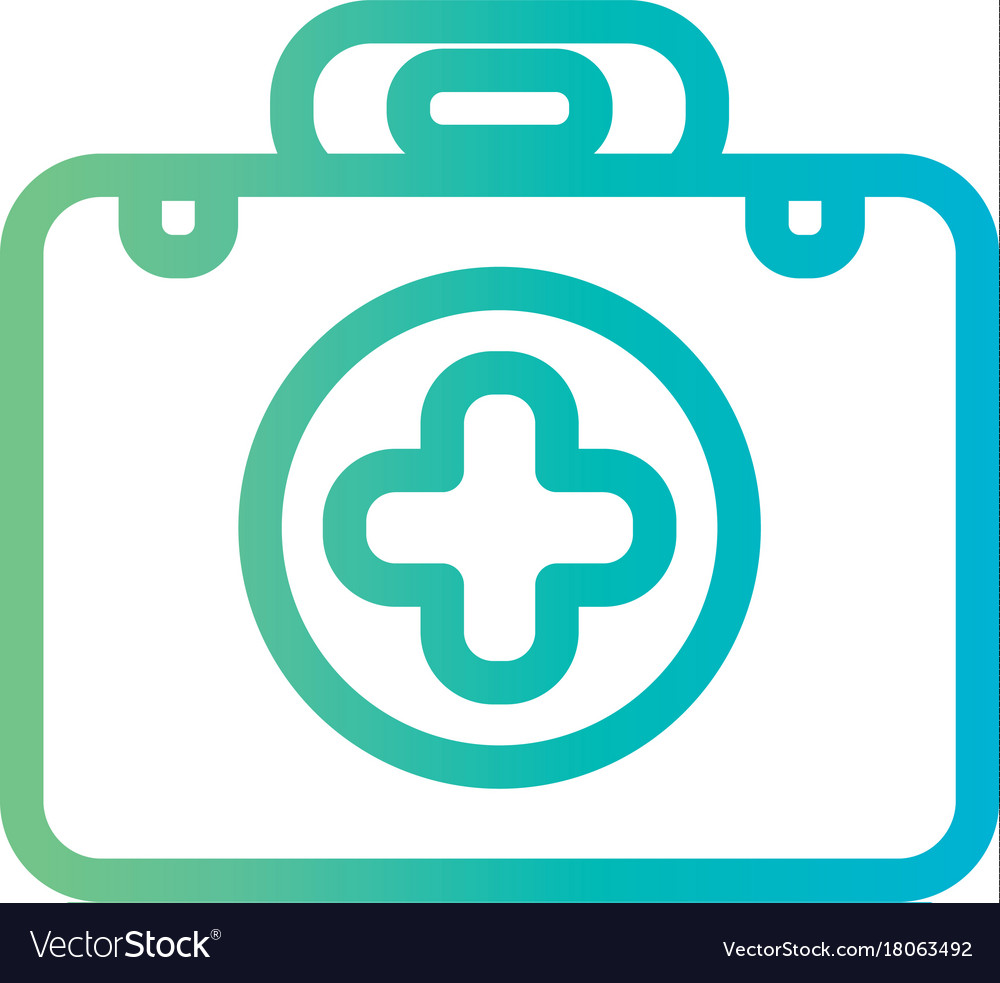 Line briefcase with first aid kit