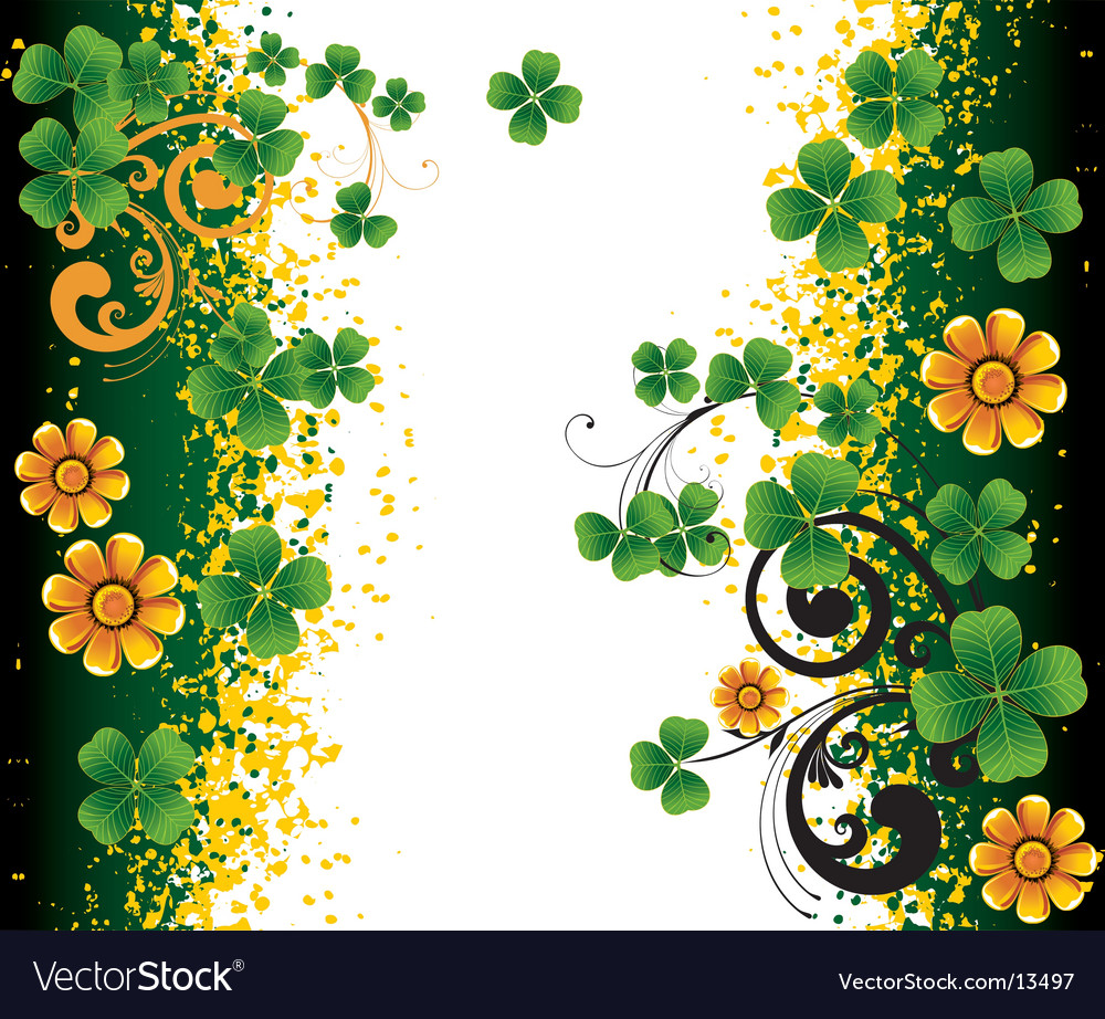 background for st patrick s day royalty free vector image