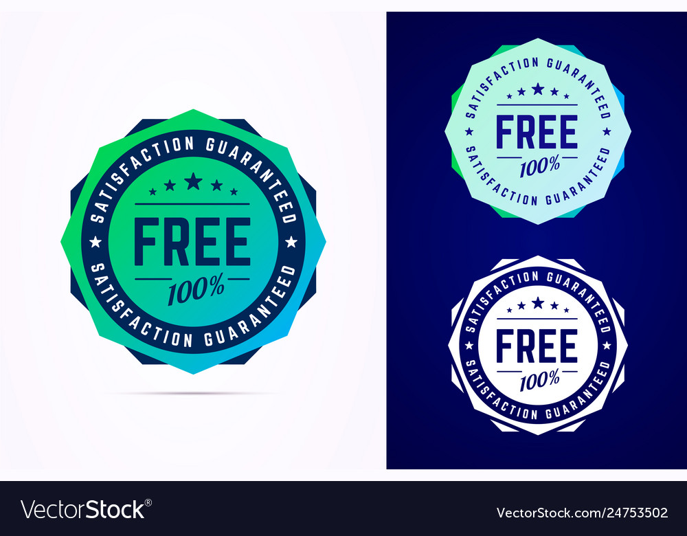 The round free sticker tag button badge