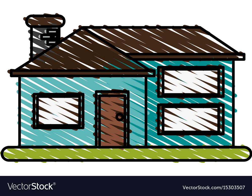 Facade house city