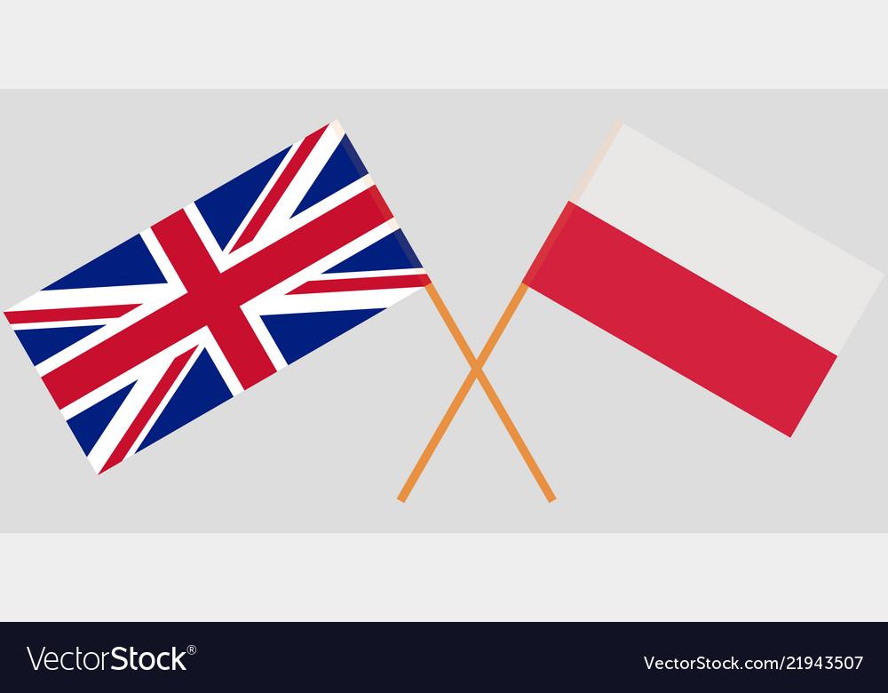 united kingdom poland lapel badge friendship european union jack polish