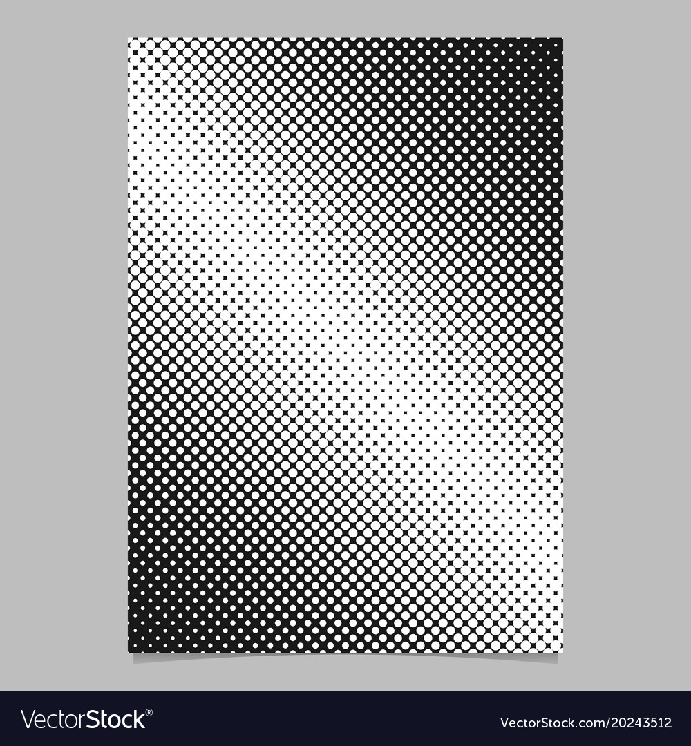 Retro abstract halftone dot pattern background
