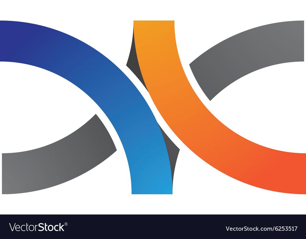 AV Logo vector image