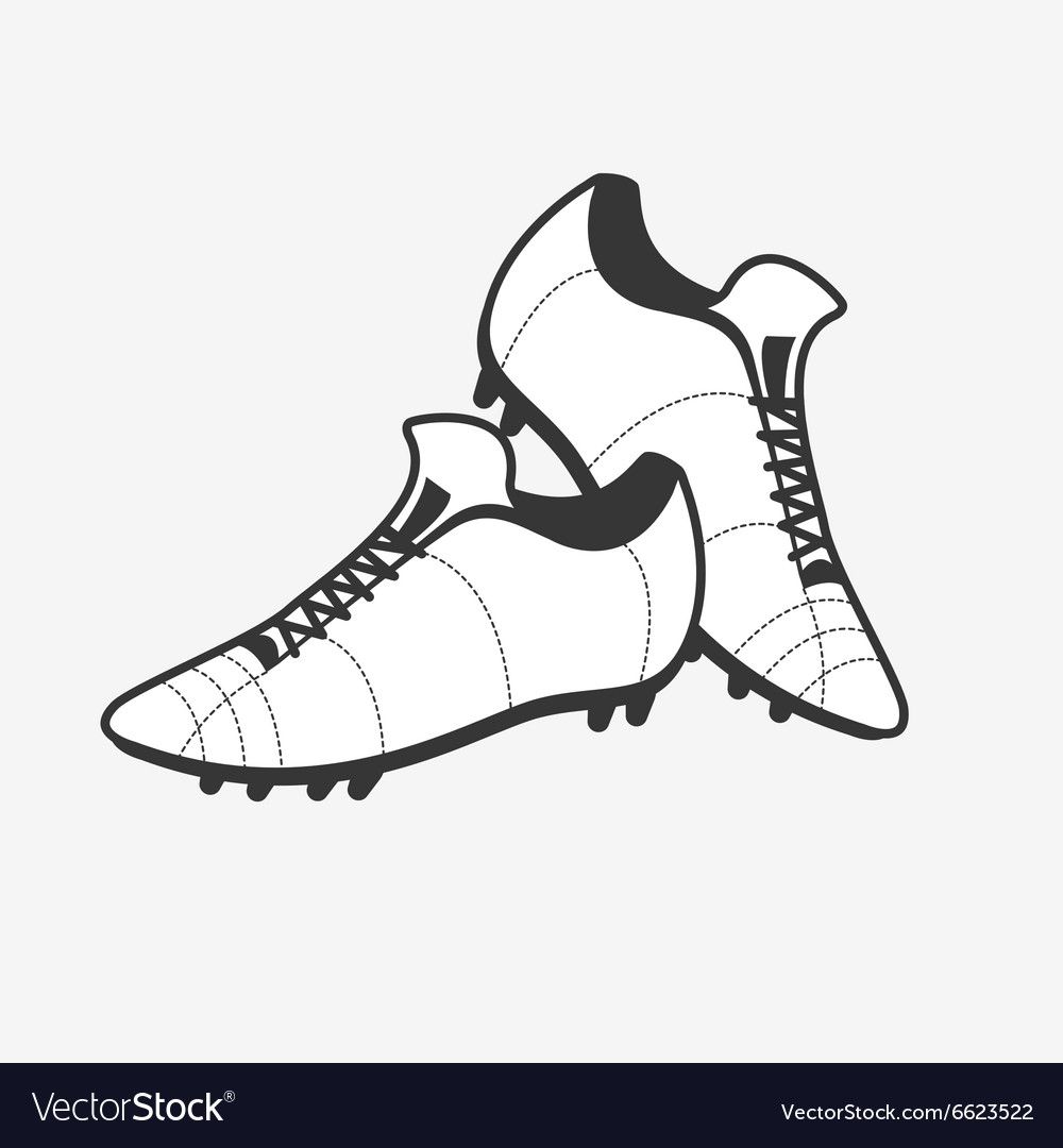 A pair of soccer shoes Football Boots icon