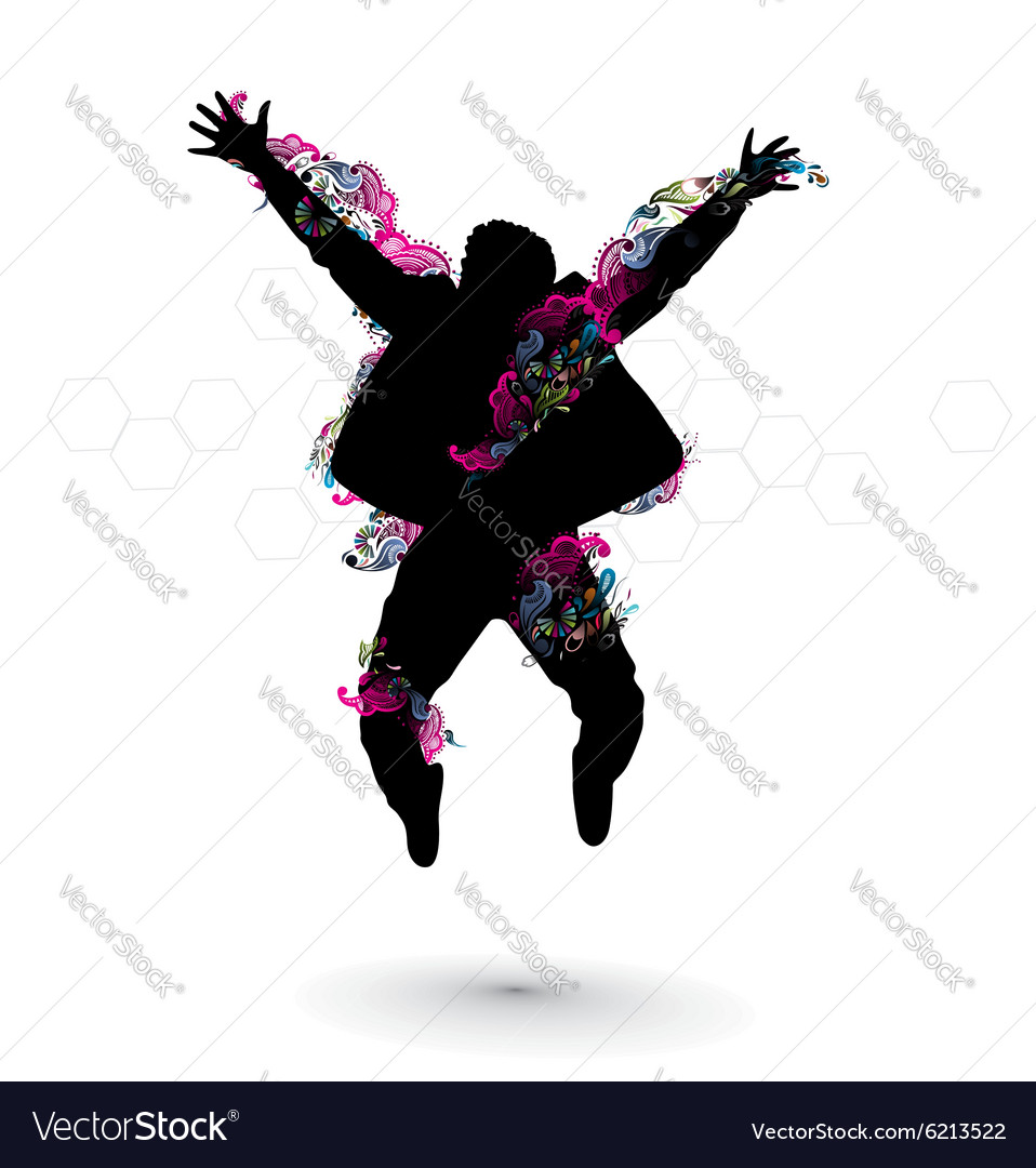 Happy people vector image