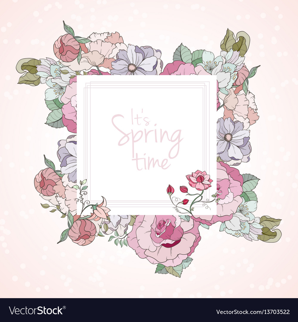 It is spring card