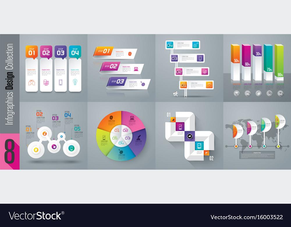 Set of infographics design
