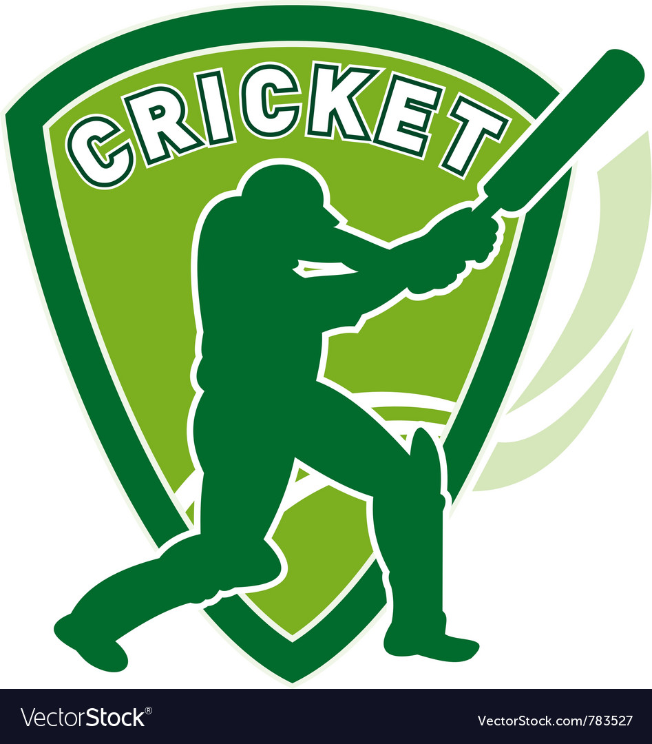 Cricket batsman shield