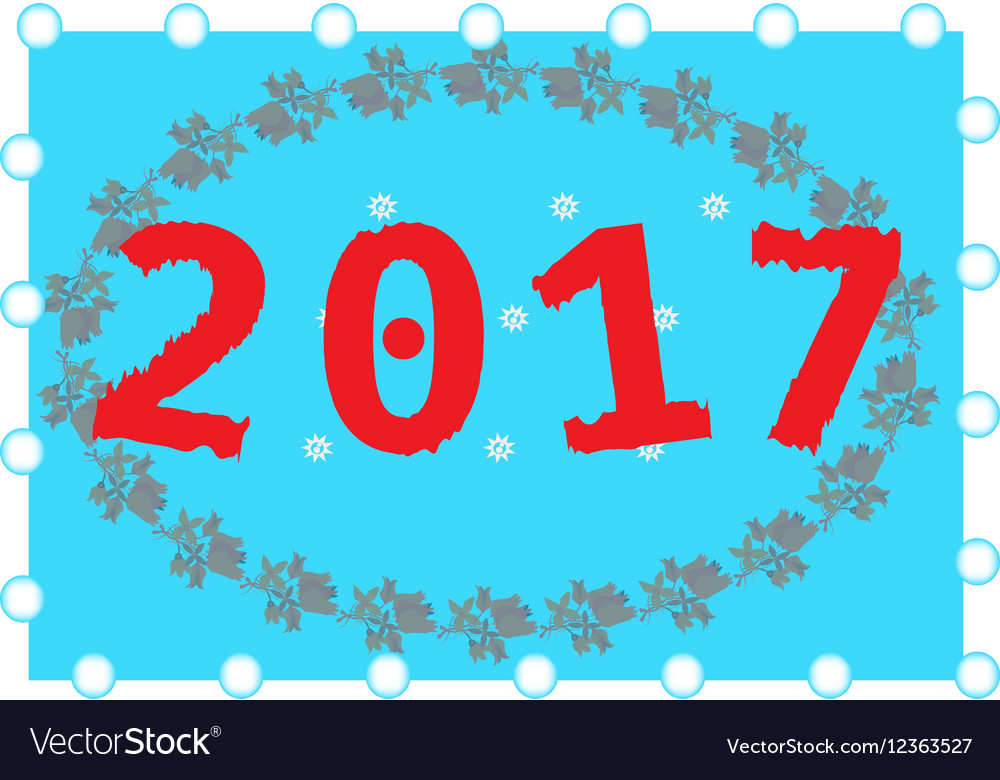 Happy New Year background Pattern element for