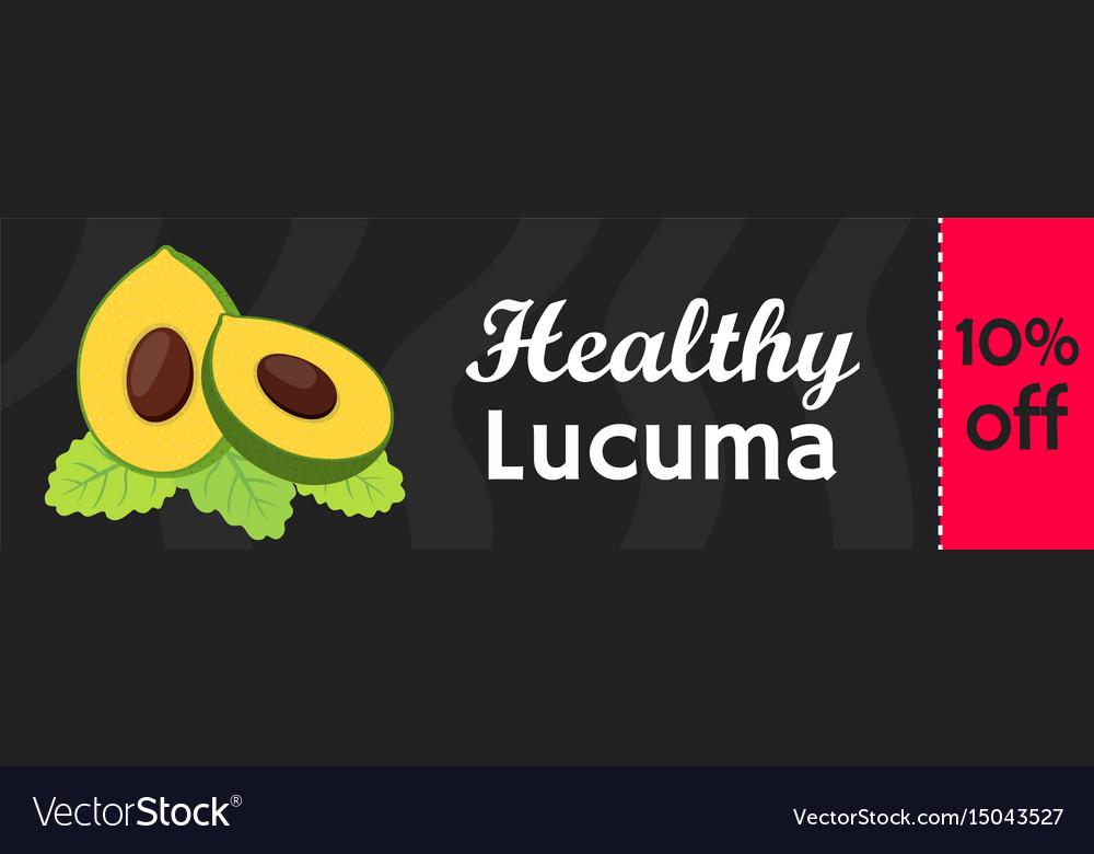 Lucuma exotic fruit sale superfood for market