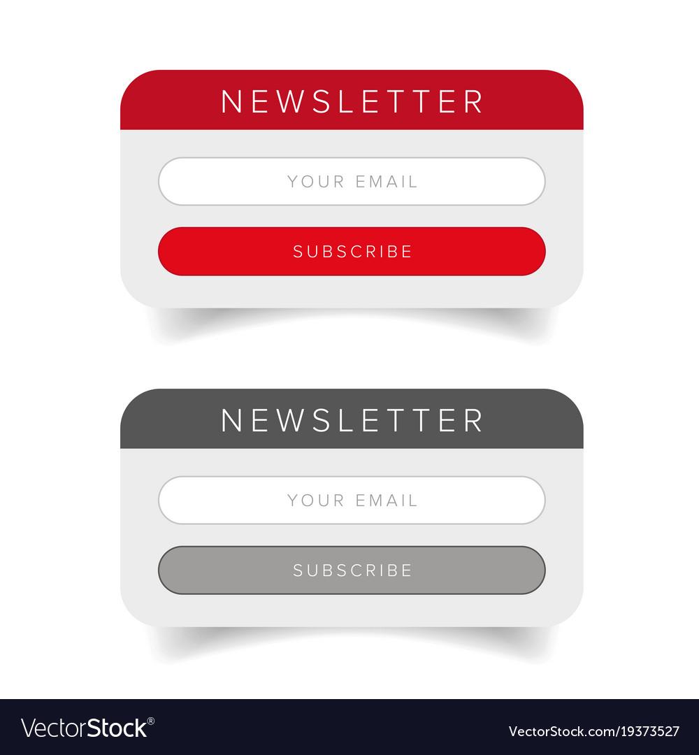 Newsletter online form