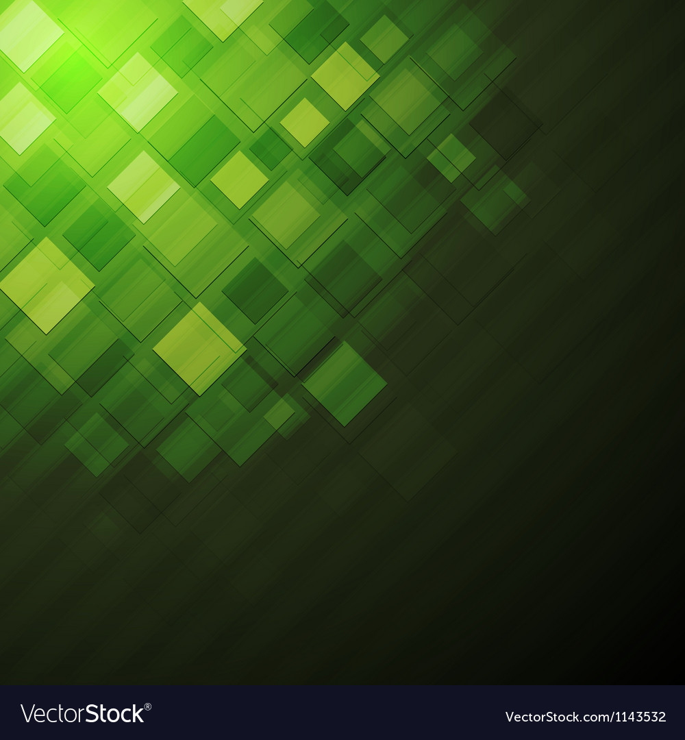Dark green technical background