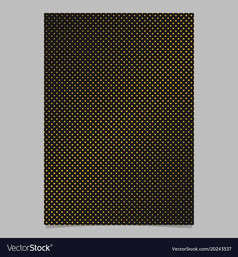 Geometrical halftone dot pattern background vector image