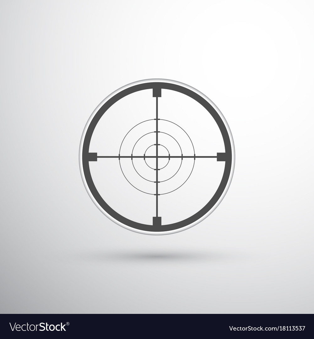 photo regarding Printable Sniper Targets identify Sniper scope concentration