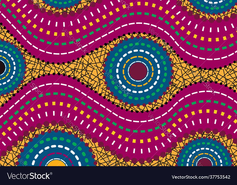 African wax print fabric ethnic handmade motifs