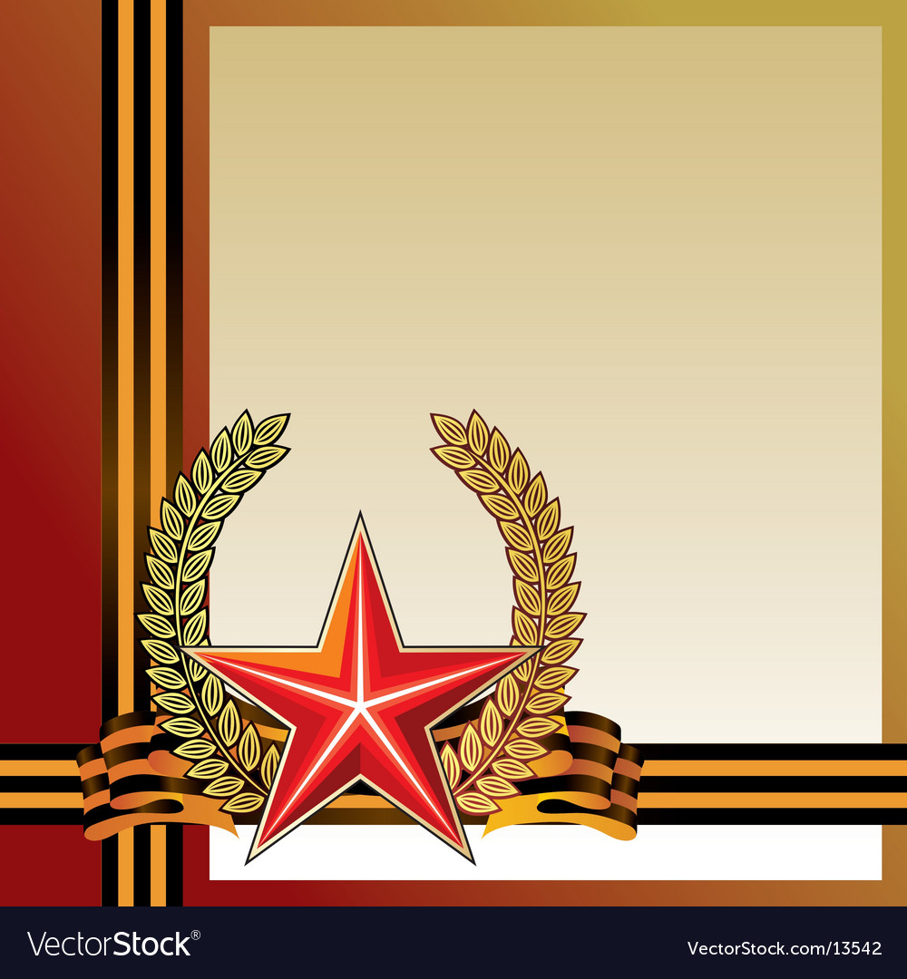 Military style graphic vector image