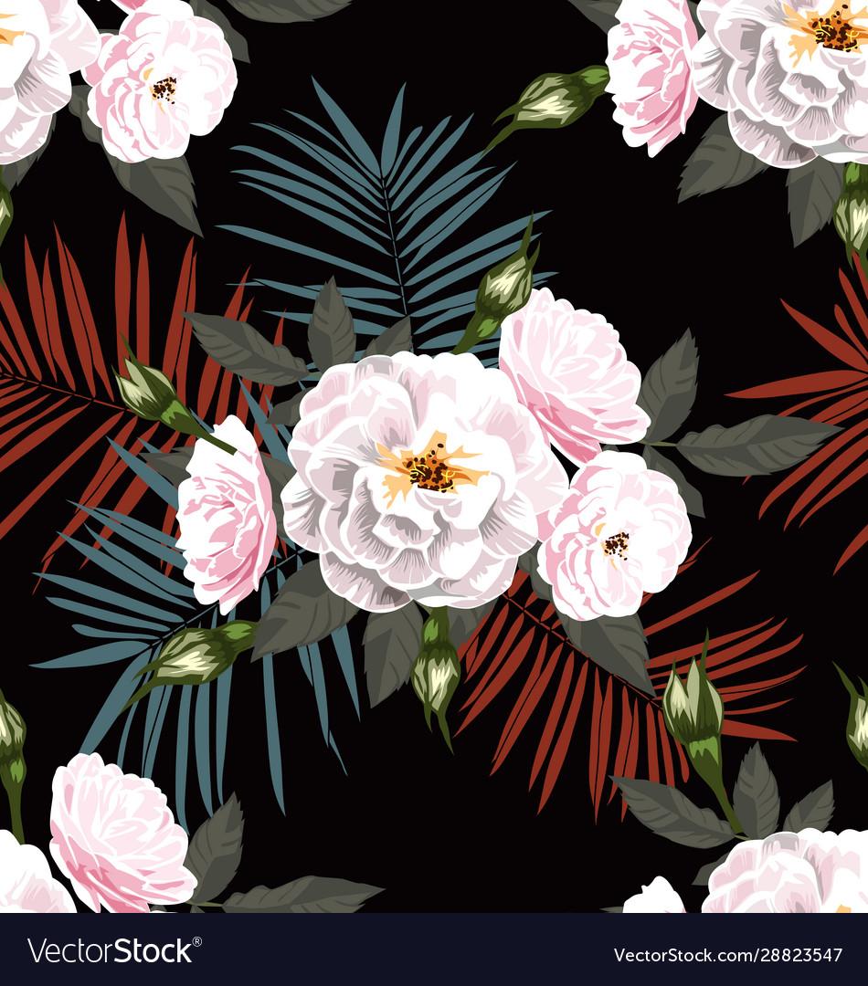 Rose seamless pattern3