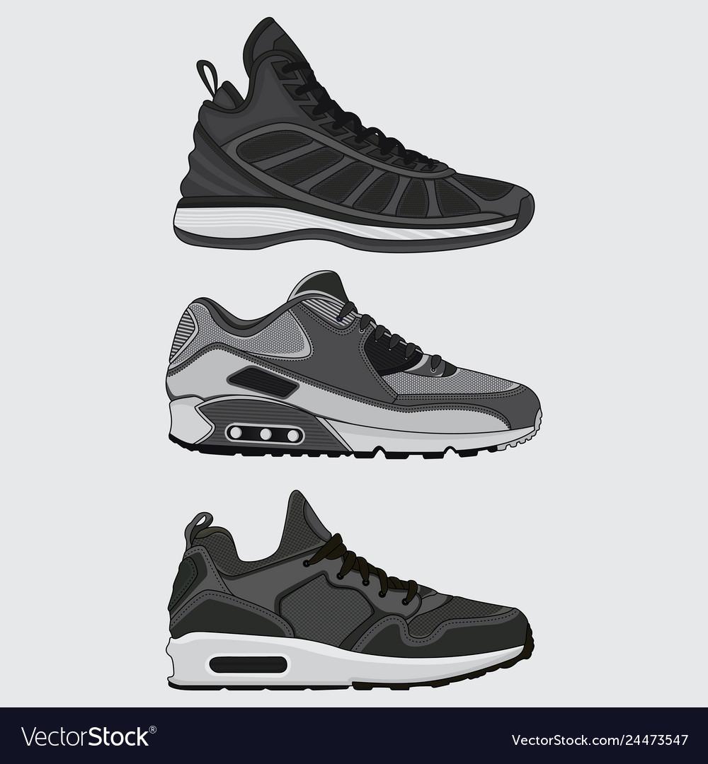 Set sneakers design