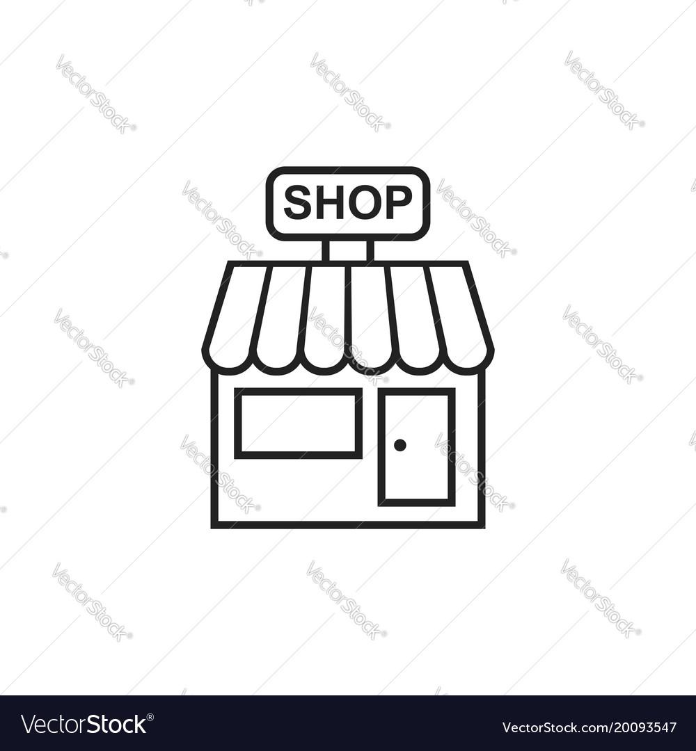 Store icon shop build