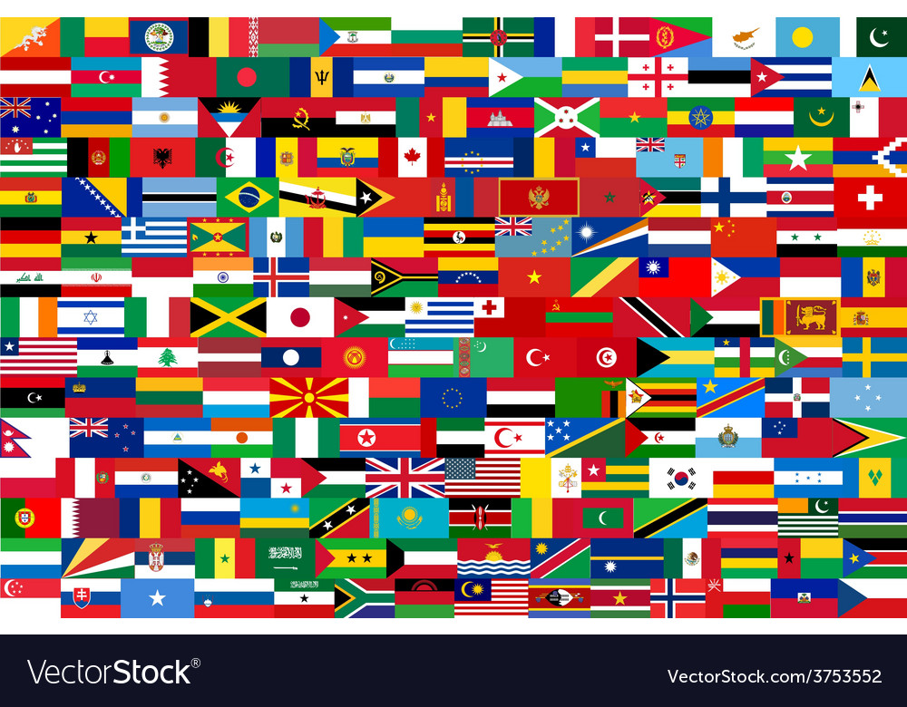 All flags of all countries in one