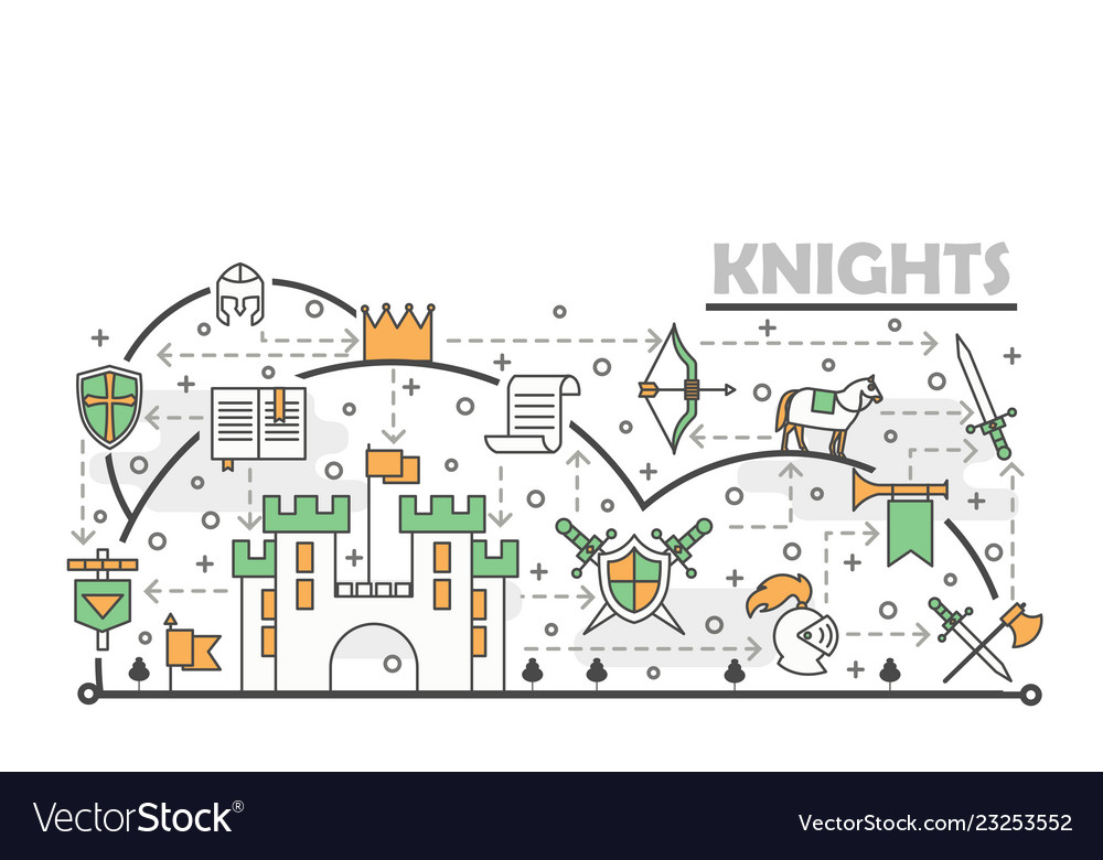 Medieval Knight Diagram