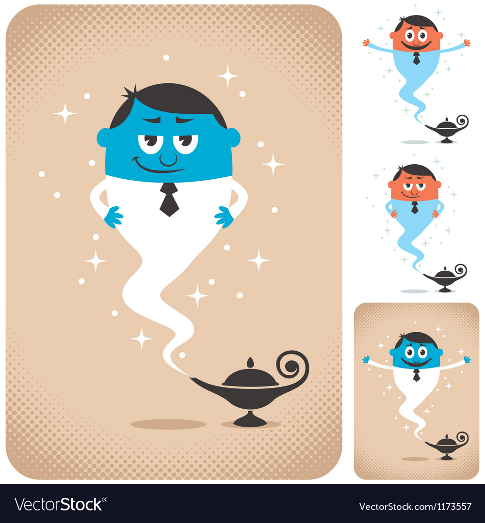 Business Assistant vector image
