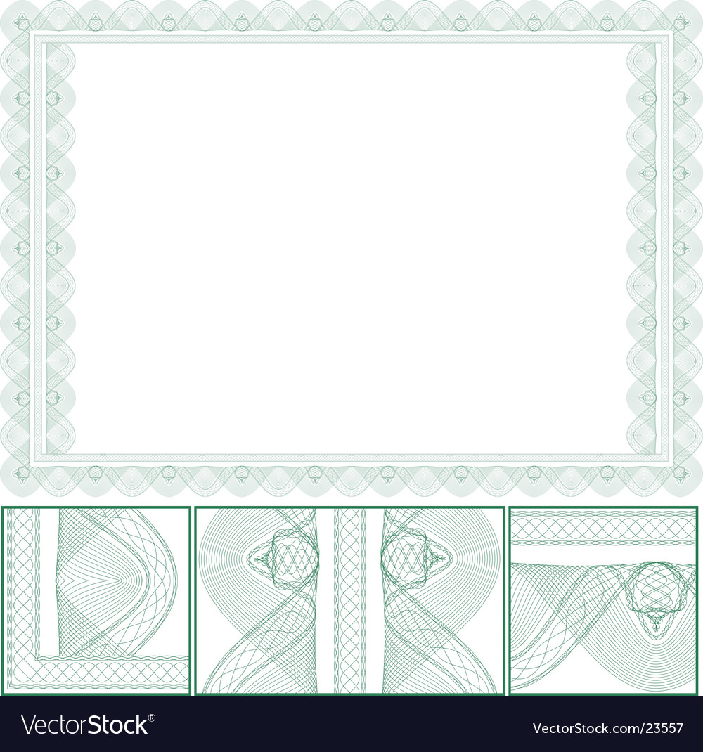 Certificate border royalty free vector image vectorstock certificate border vector image yelopaper Image collections