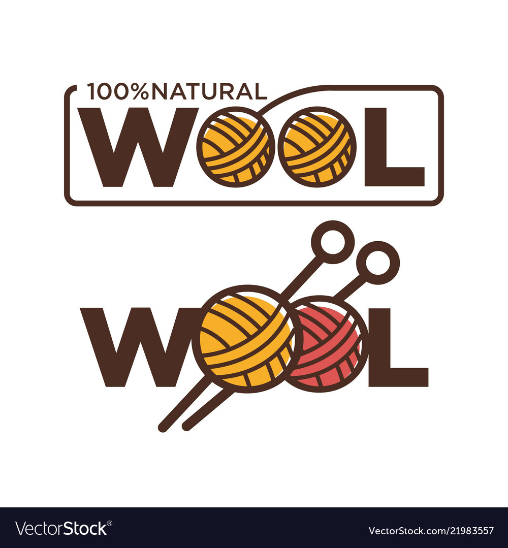 Natural wool 100 percent quality threads and