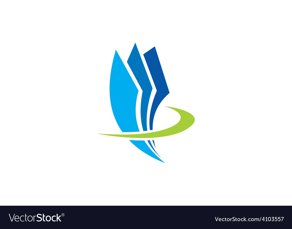 Paper document office abstract logo