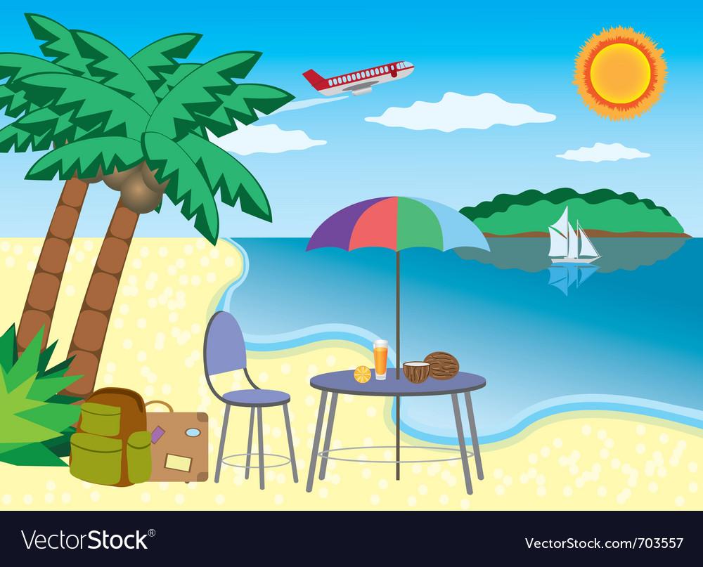Vacation at the seashore