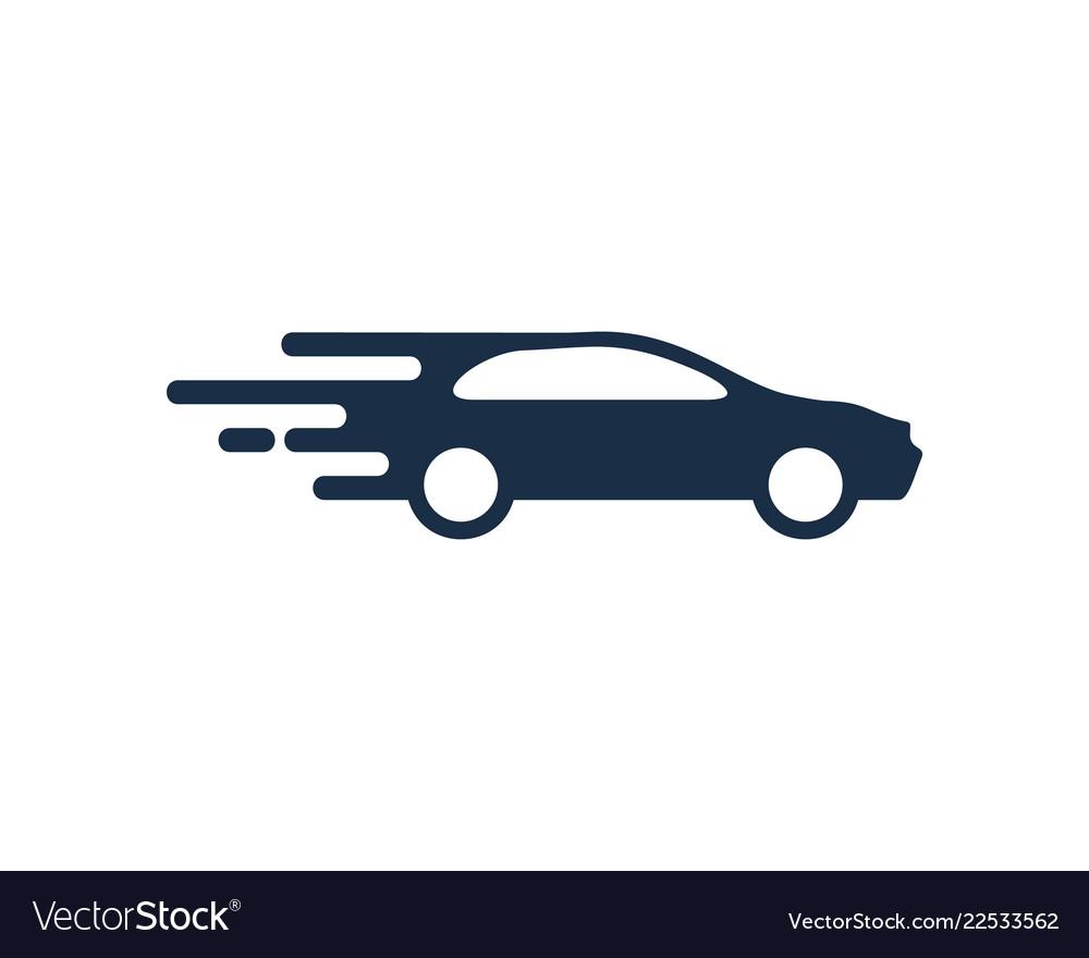 Delivery automotive logo icon design