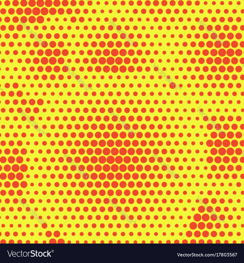 Abstract orange dotted halftone background two