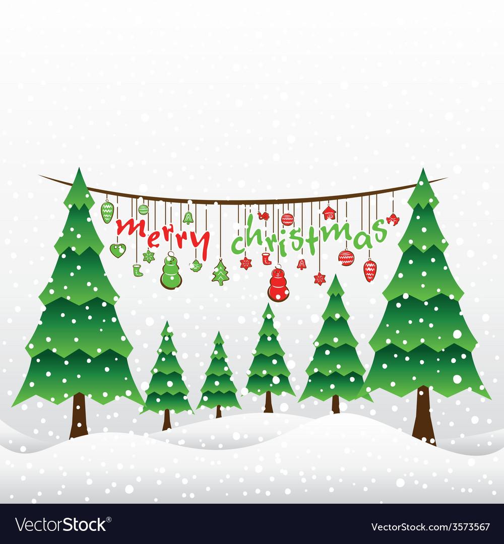 Christmas Designs.Creative Merry Christmas Greeting Card Design