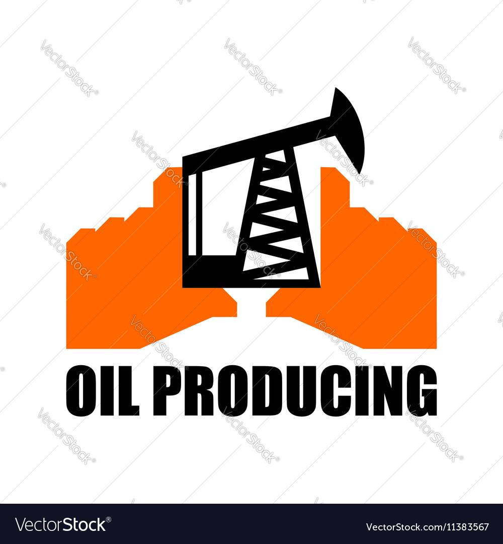 Oil production logo petroleum industry sign Logo