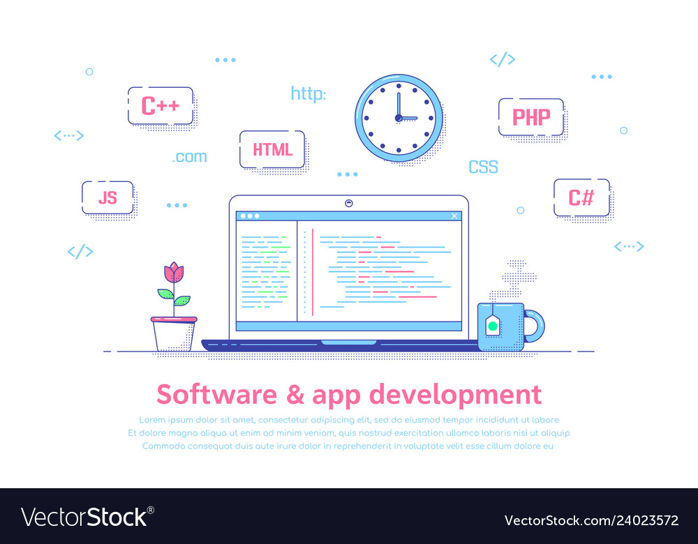 Software and application development