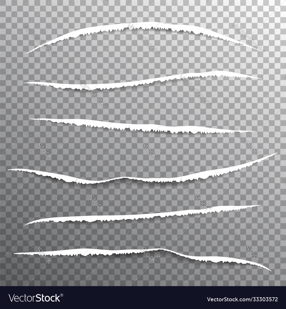 Torn edges paper pattern